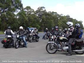 TMRA Southern Triples Rally - Saturday, 8 March 2014 - 01.35PM
