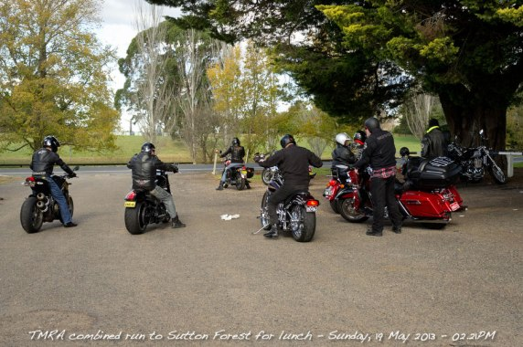 TMRA combined run to Sutton Forest for lunch - Sunday, 19 May 2013 - 02.21PM