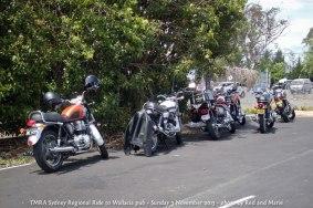 TMRA Sydney Regional Ride to Wallacia pub - Sunday 3 November 2013