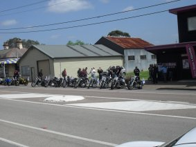 Ric Lord Memorial Ride, Kurri Kurri - Saturday, 21 November 2015 - 11.26AM