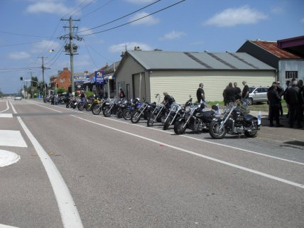Ric Lord Memorial Ride, Kurri Kurri - Saturday, 21 November 2015 - 11.27AM