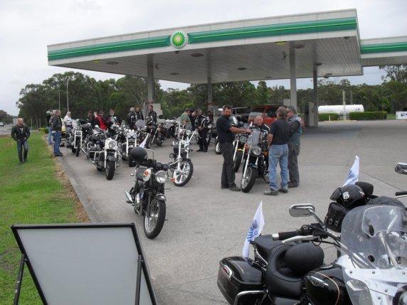 Ric Lord Memorial Ride, Kurri Kurri - Saturday, 21 November 2015 - 01.05PM
