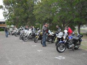 Ric Lord Memorial Ride, Kurri Kurri - Saturday, 21 November 2015 - 01.27PM