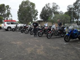 Ric Lord Memorial Ride, Kurri Kurri - Saturday, 21 November 2015 - 01.28PM
