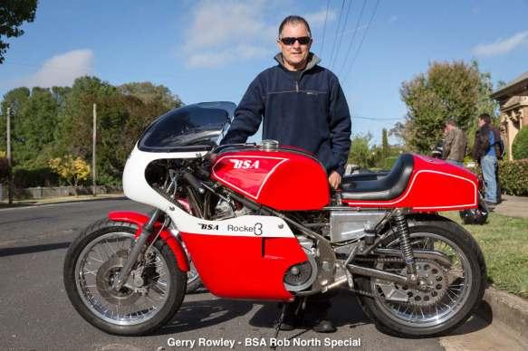 Gerry Rowley - BSA Rob North Special