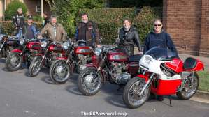 The BSA owners lineup
