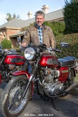Ron Allen - 1969 BSA A75