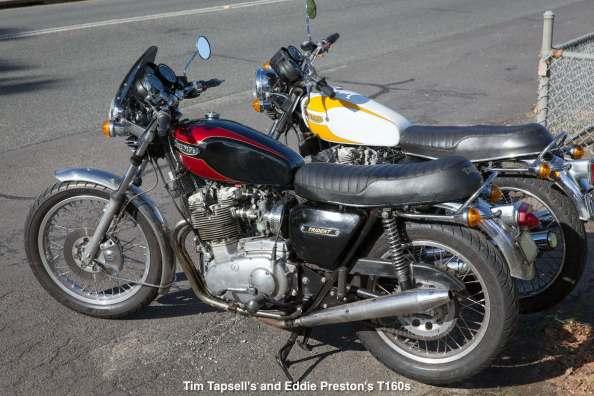 Tim Tapsell's and Eddie Preston's T160s