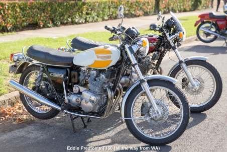 Eddie Preston's T160 (all the way from WA)