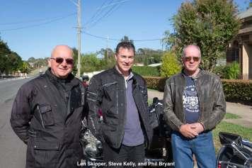 Len Skipper, Steve Kelly, and Phil Bryant