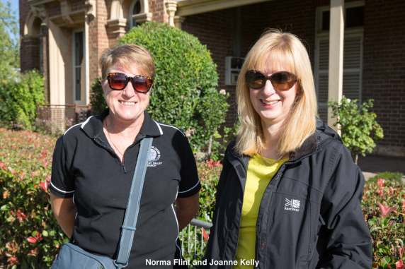 Norma Flint and Joanne Kelly
