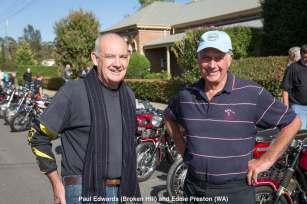 Paul Edwards (Broken Hill) and Eddie Preston (WA)
