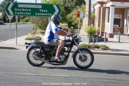Chris Robinson (Robbo) - 1974 T150
