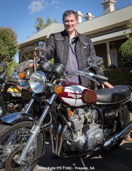 Steve Kelly (75 T160) - Trispark, SA