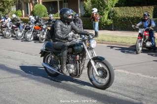 Bernie Clark - 1974 T150
