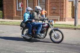 Phil and Jeannine Bryant - 1972 T150
