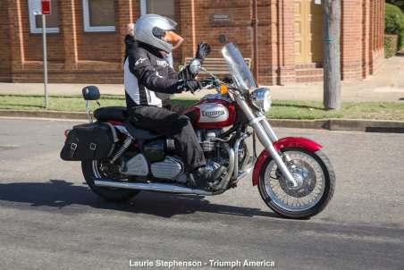 Laurie Stephenson - Triumph America
