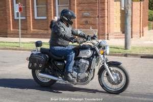 Brian Eldred - Triumph Thunderbird