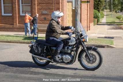 Peter Ellwood - 2007 Bonneville