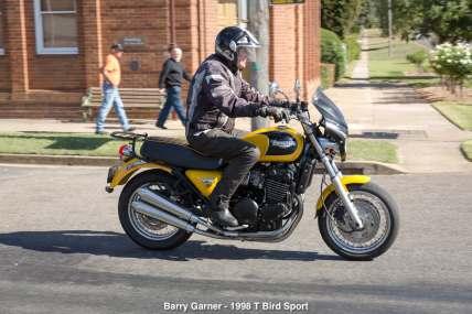 Barry Garner - 1998 T Bird Sport
