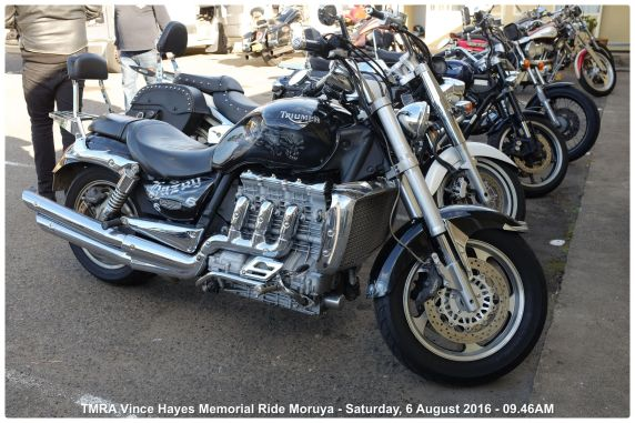 TMRA Vince Hayes Memorial Ride Moruya - Saturday, 6 August 2016 - 09.46AM