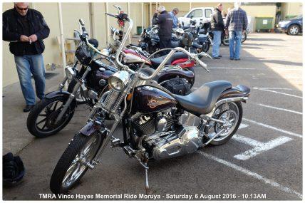 TMRA Vince Hayes Memorial Ride Moruya - Saturday, 6 August 2016 - 10.13AM
