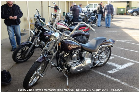 TMRA Vince Hayes Memorial Ride Moruya - Saturday, 6 August 2016 - 10.13AM