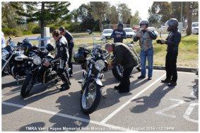 TMRA Vince Hayes Memorial Ride Moruya - Saturday, 6 August 2016 - 12.19PM