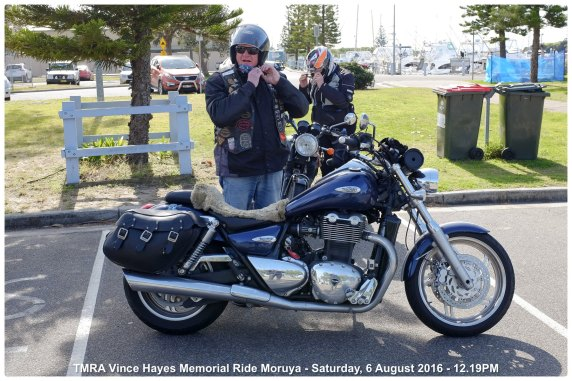 TMRA Vince Hayes Memorial Ride Moruya - Saturday, 6 August 2016 - 12.19PM