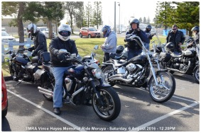 TMRA Vince Hayes Memorial Ride Moruya - Saturday, 6 August 2016 - 12.20PM