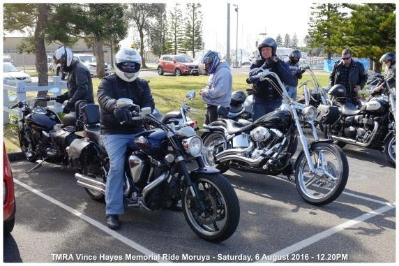 TMRA Vince Hayes Memorial Ride Moruya - Saturday, 6 August 2016 - 12.20PM