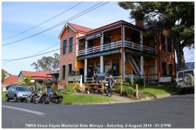 TMRA Vince Hayes Memorial Ride Moruya - Saturday, 6 August 2016 - 01.07PM