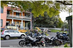 TMRA Vince Hayes Memorial Ride Moruya - Saturday, 6 August 2016 - 01.10PM