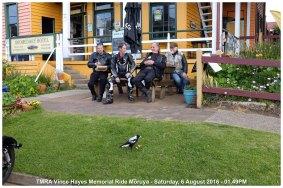 TMRA Vince Hayes Memorial Ride Moruya - Saturday, 6 August 2016 - 01.49PM