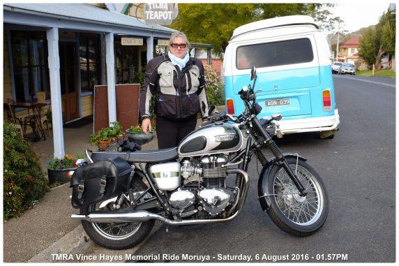TMRA Vince Hayes Memorial Ride Moruya - Saturday, 6 August 2016 - 01.57PM