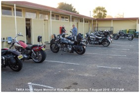 TMRA Vince Hayes Memorial Ride Moruya - Sunday, 7 August 2016 - 07.21AM
