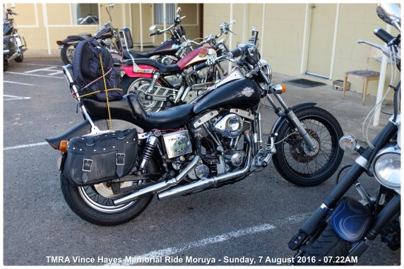 TMRA Vince Hayes Memorial Ride Moruya - Sunday, 7 August 2016 - 07.22AM