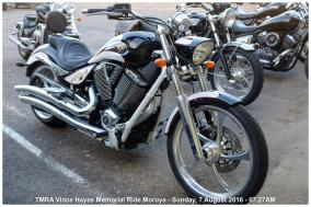 TMRA Vince Hayes Memorial Ride Moruya - Sunday, 7 August 2016 - 07.27AM