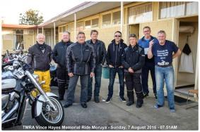 TMRA Vince Hayes Memorial Ride Moruya - Sunday, 7 August 2016 - 07.51AM