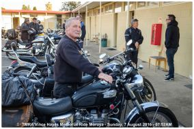 TMRA Vince Hayes Memorial Ride Moruya - Sunday, 7 August 2016 - 07.52AM