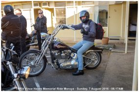 TMRA Vince Hayes Memorial Ride Moruya - Sunday, 7 August 2016 - 08.17AM