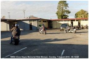 TMRA Vince Hayes Memorial Ride Moruya - Sunday, 7 August 2016 - 08.18AM