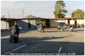 TMRA Vince Hayes Memorial Ride Moruya - Sunday, 7 August 2016 - 08.18AM