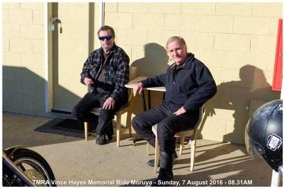 TMRA Vince Hayes Memorial Ride Moruya - Sunday, 7 August 2016 - 08.31AM
